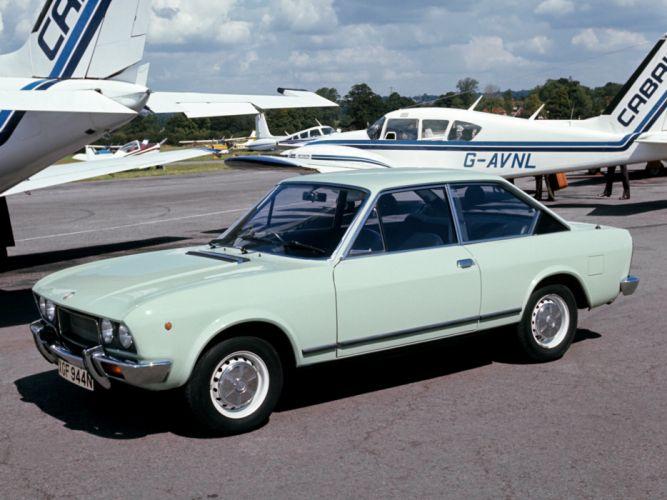 1972 Fiat 124 Sport Coupe UK-spec classic rw wallpaper