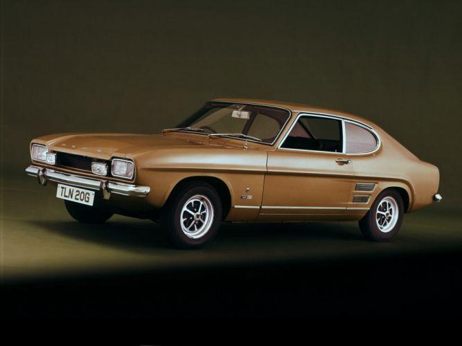 1972 Ford Capri UK-spec classic h wallpaper