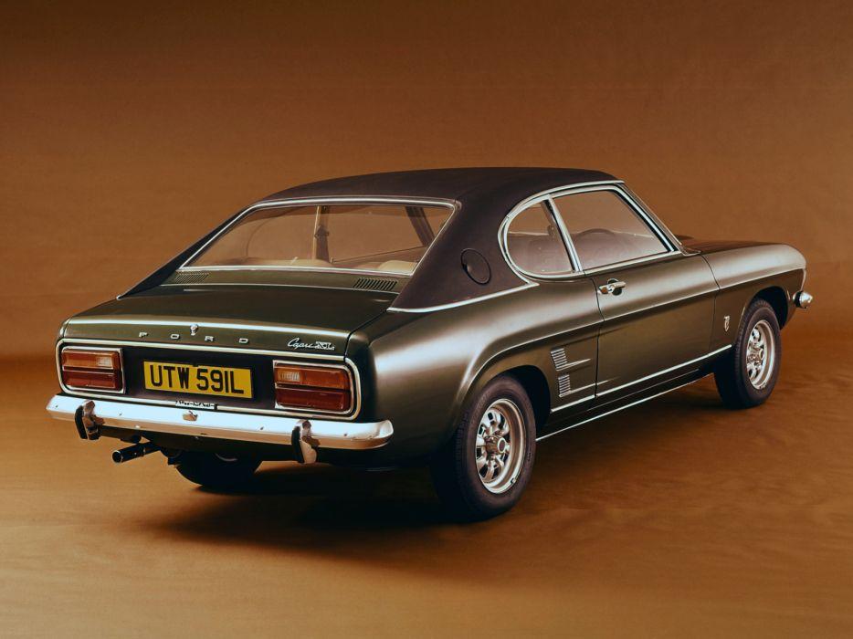 1972 Ford Capri UK-spec classic   r wallpaper
