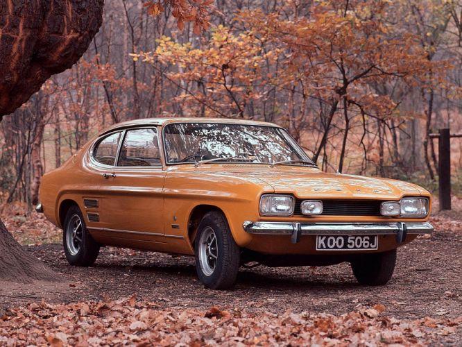 1972 Ford Capri UK-spec classic wallpaper