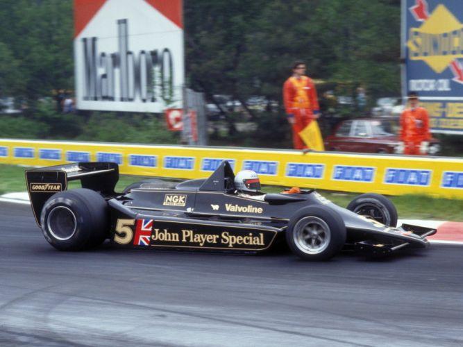 1978 Lotus 79 formula one f-1 race racing 7-9 u wallpaper