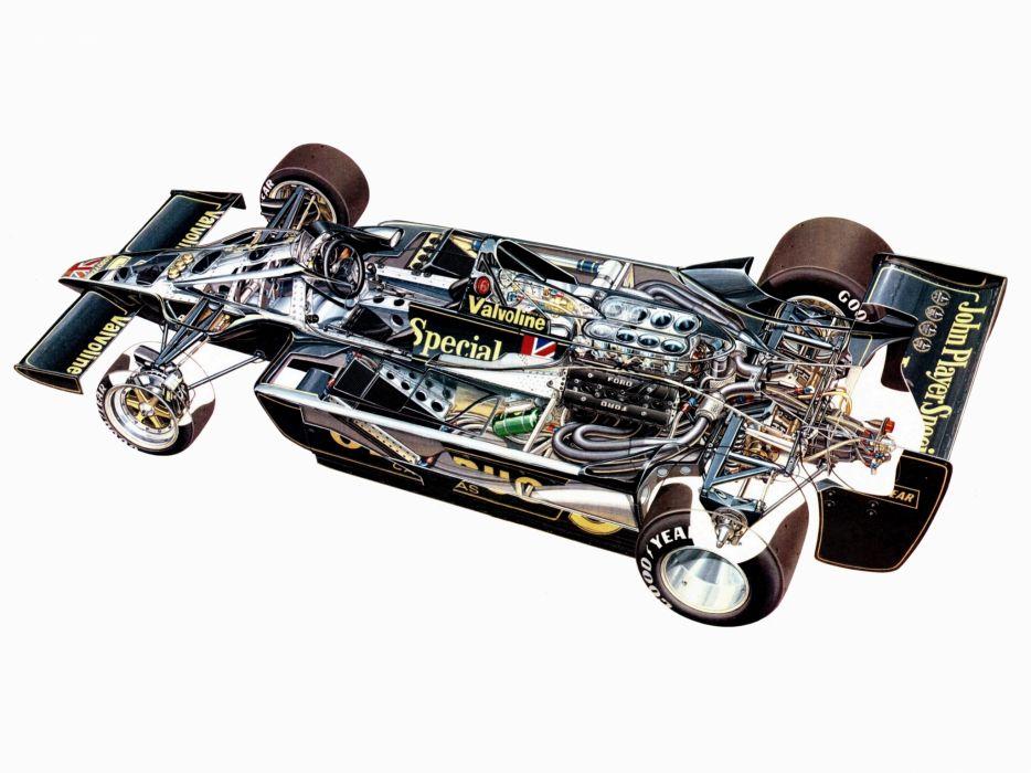 1978 Lotus 79 formula one f-1 race racing 7-9 interior engine      h wallpaper