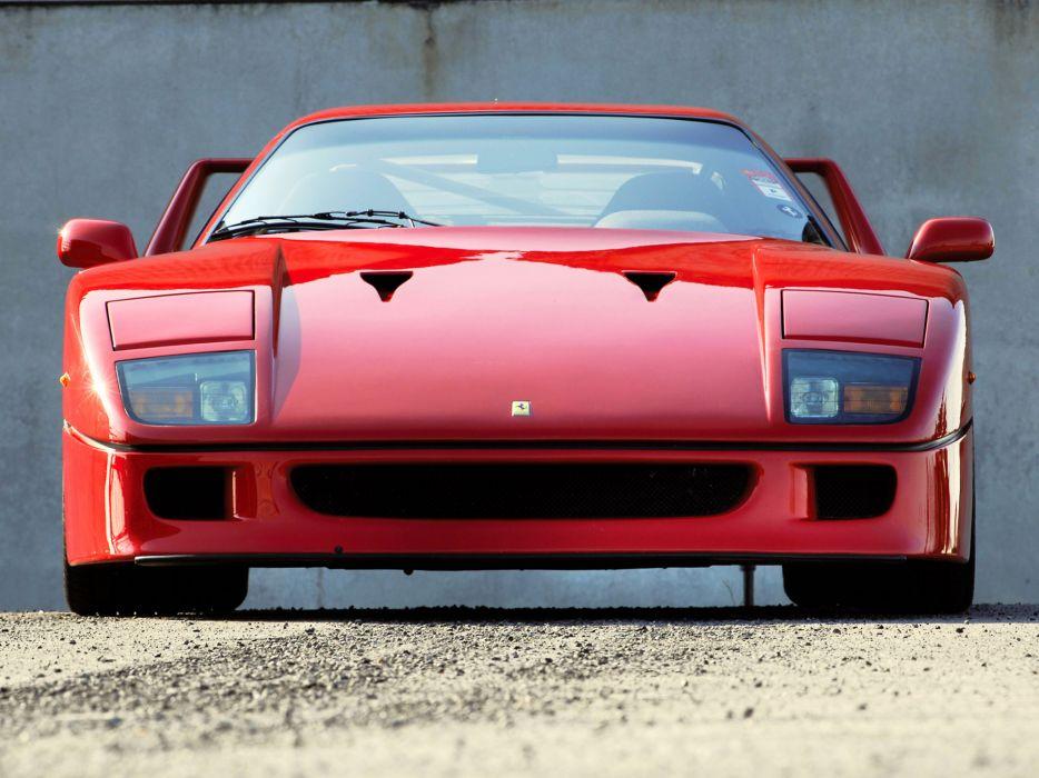 1989 Ferrari F40 Valeo supercar wallpaper