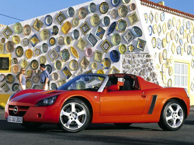 2000 Opel Speedster sportscar r wallpaper