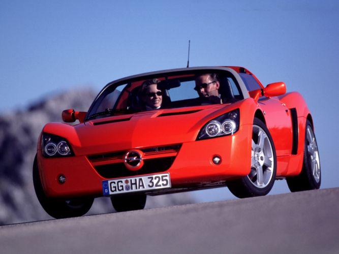 2000 Opel Speedster sportscar d wallpaper