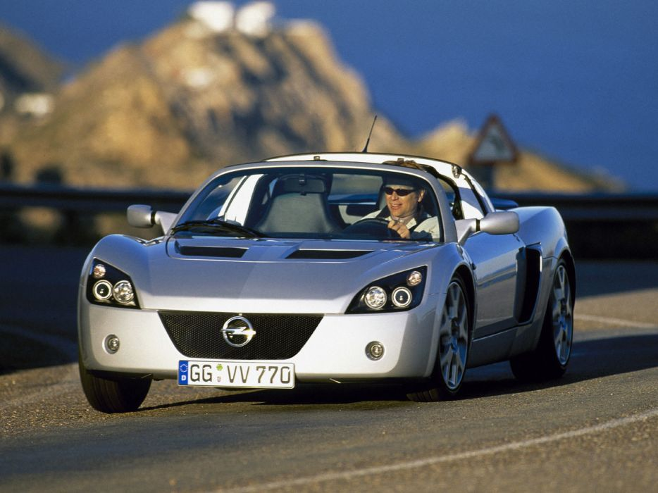 2004 Opel Speedster Turbo supercar    f wallpaper