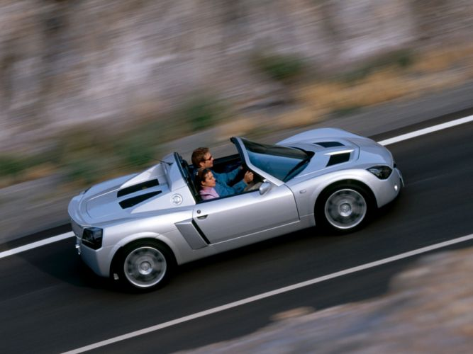 2004 Opel Speedster Turbo supercar r wallpaper