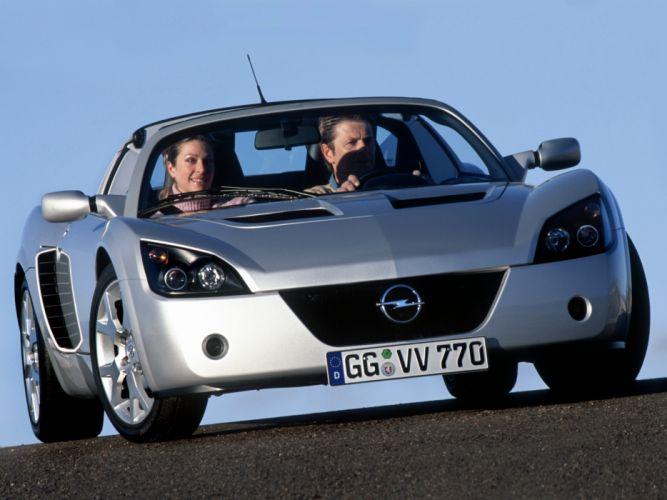 2004 Opel Speedster Turbo supercar fs wallpaper