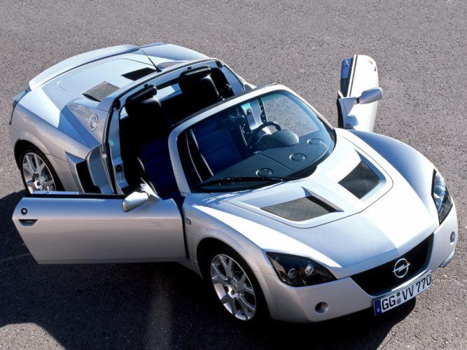 2004 Opel Speedster Turbo supercar f wallpaper