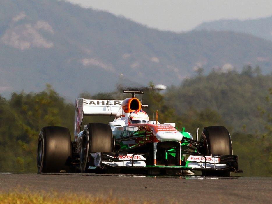 2013 Force India VJM06 formula one race racing f-1 wallpaper