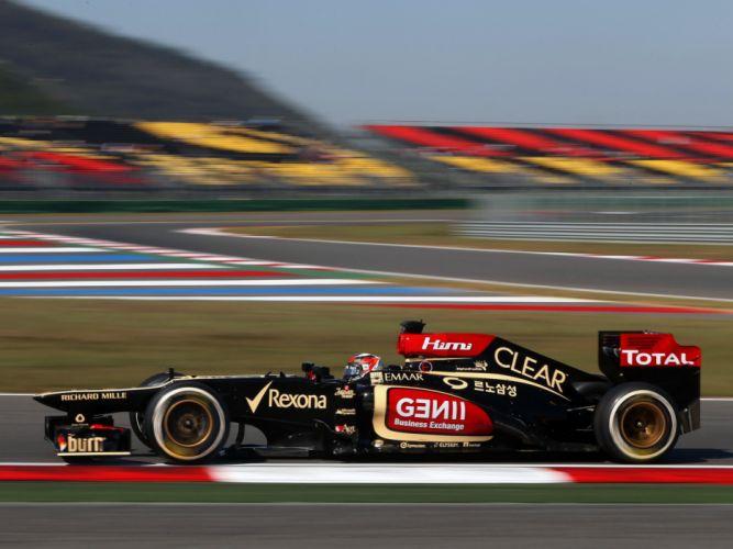 2013 Lotus E21 Formula One race racing f-1 wallpaper