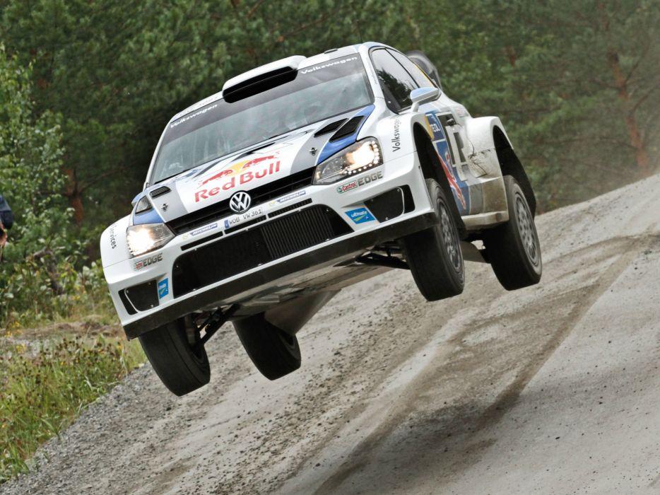 2013 Volkswagen Polo R WRC Typ-6R race racing        4 wallpaper