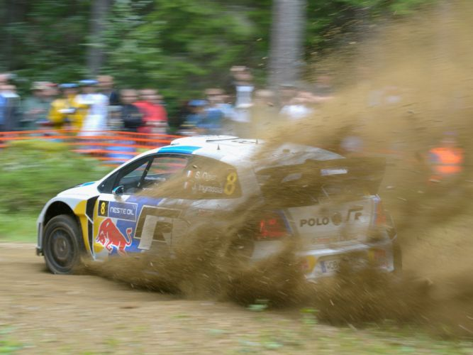 2013 Volkswagen Polo R WRC Typ-6R race racing y wallpaper
