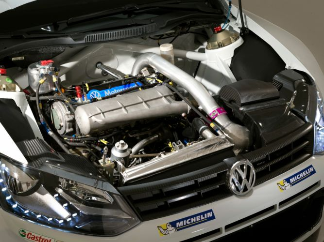 2013 Volkswagen Polo R WRC Typ-6R race racing engine t wallpaper