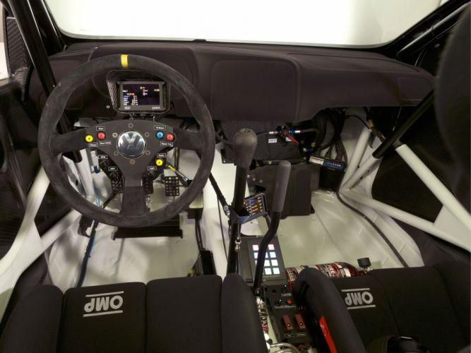 2013 Volkswagen Polo R WRC Typ-6R race racing interior h wallpaper