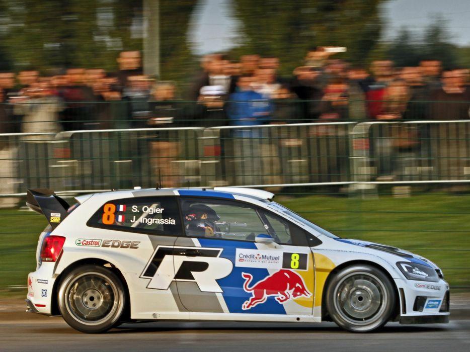 2013 Volkswagen Polo R WRC Typ-6R race racing   r wallpaper