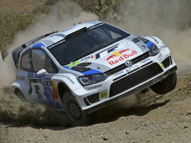 2013 Volkswagen Polo R WRC Typ-6R race racing v wallpaper