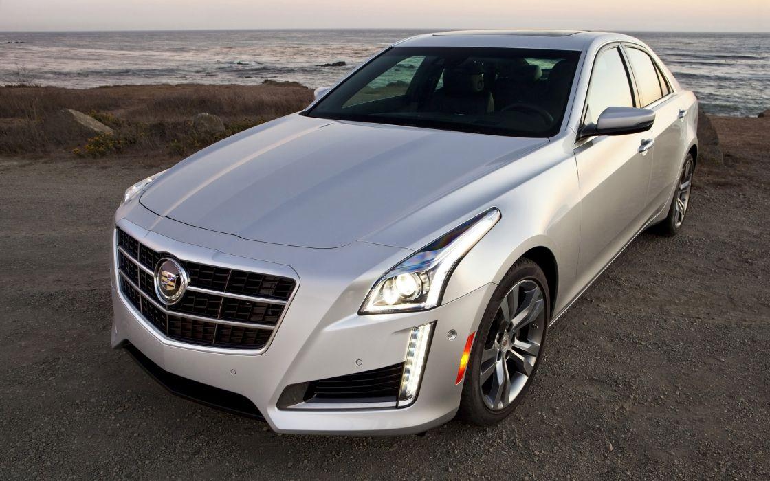 2014 Cadillac CTS Vsport Sedan luxury    e wallpaper