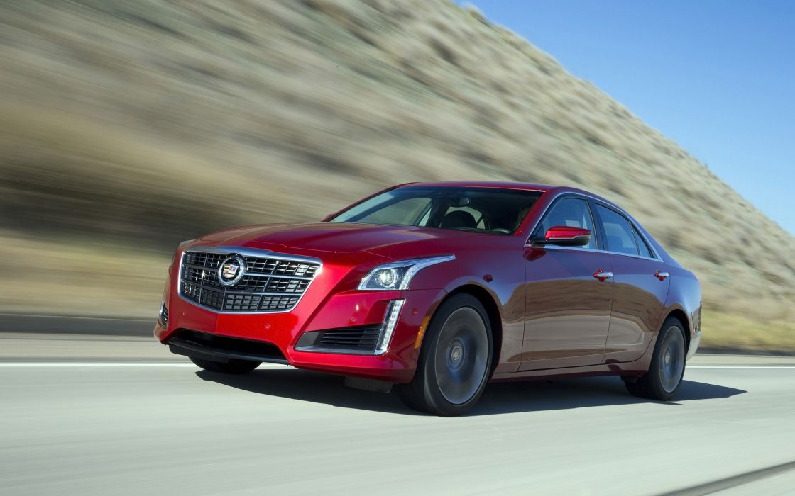 2014 Cadillac CTS Vsport Sedan luxury    te wallpaper