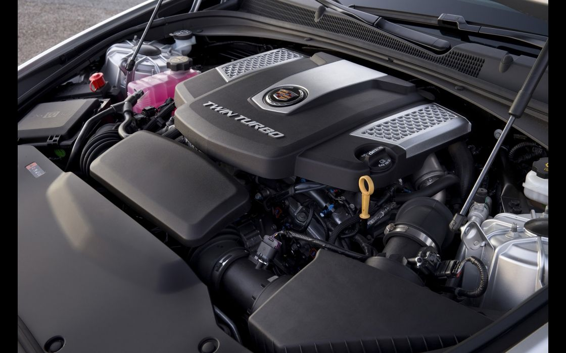 2014 Cadillac CTS Vsport Sedan luxury engine         y wallpaper