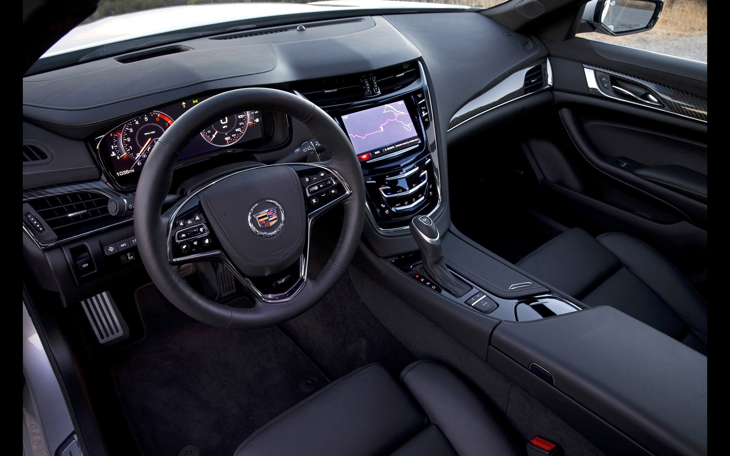 2014 cadillac cts vsport sedan luxury interior y wallpaper 2560x1600 156061 wallpaperup. Black Bedroom Furniture Sets. Home Design Ideas