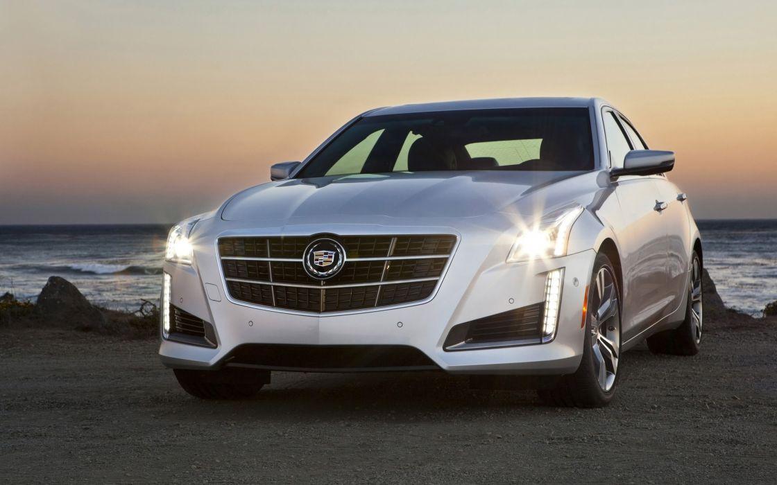 2014 Cadillac CTS Vsport Sedan luxury   w wallpaper