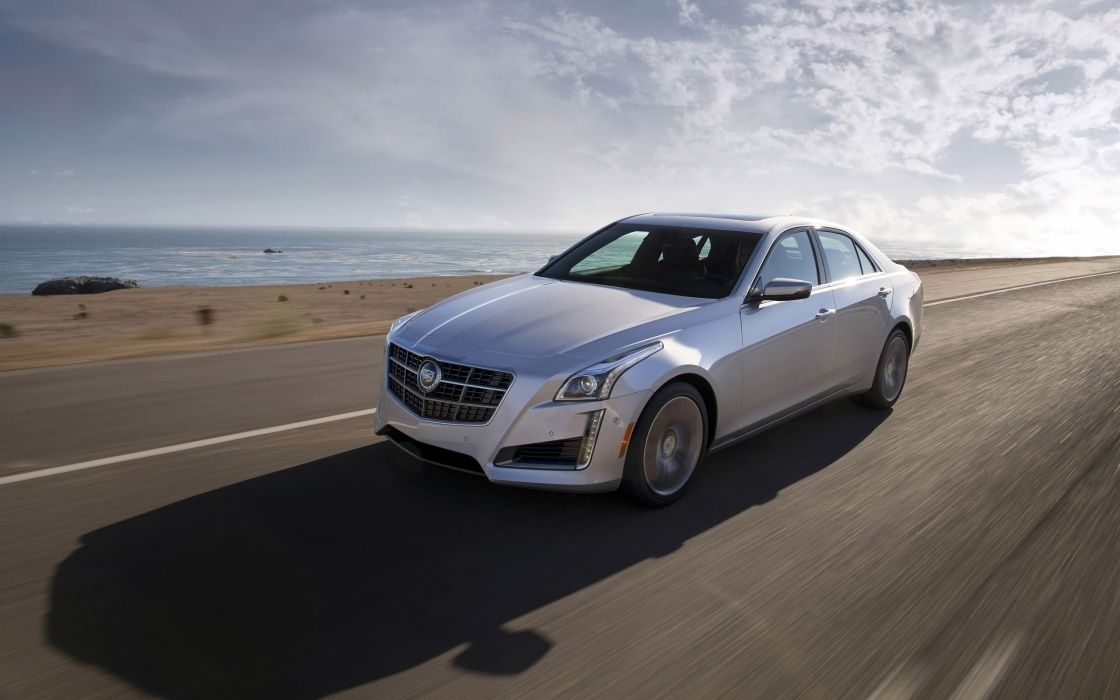 2014 Cadillac CTS Vsport Sedan luxury   i wallpaper