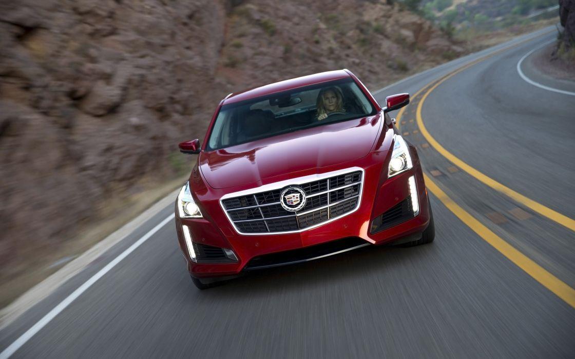 2014 Cadillac CTS Vsport Sedan luxury  t wallpaper