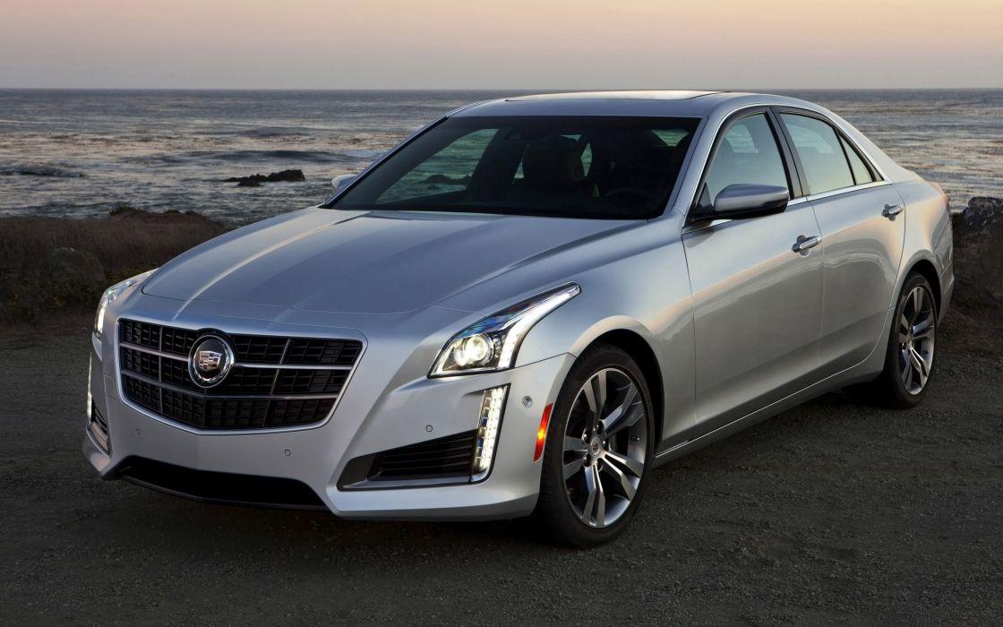2014 Cadillac CTS Vsport Sedan luxury  r wallpaper