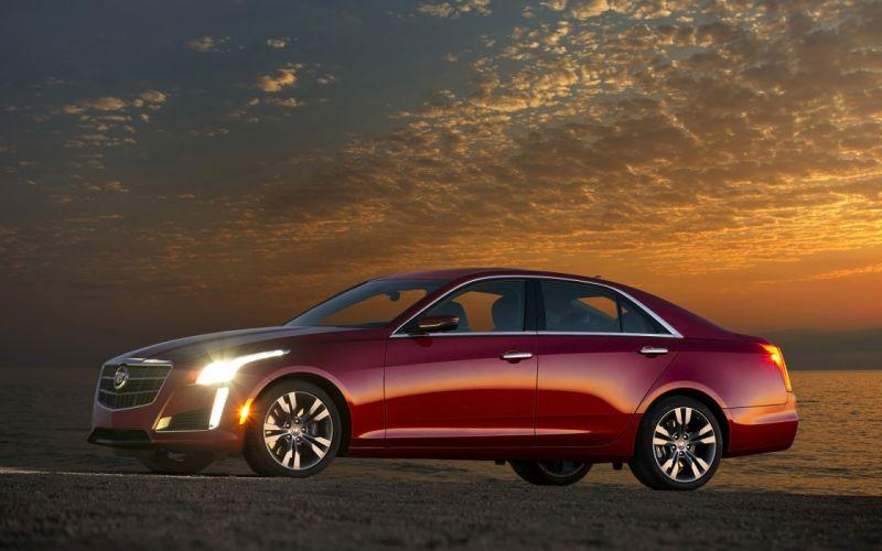 2014 Cadillac CTS Vsport Sedan luxury wallpaper