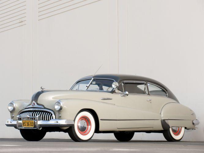 1947 Buick Roadmaster Sedanet (76S) retro wallpaper