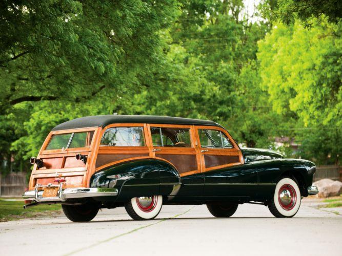1947 Buick Super Estate Wagon (59) stationwagon retro wallpaper