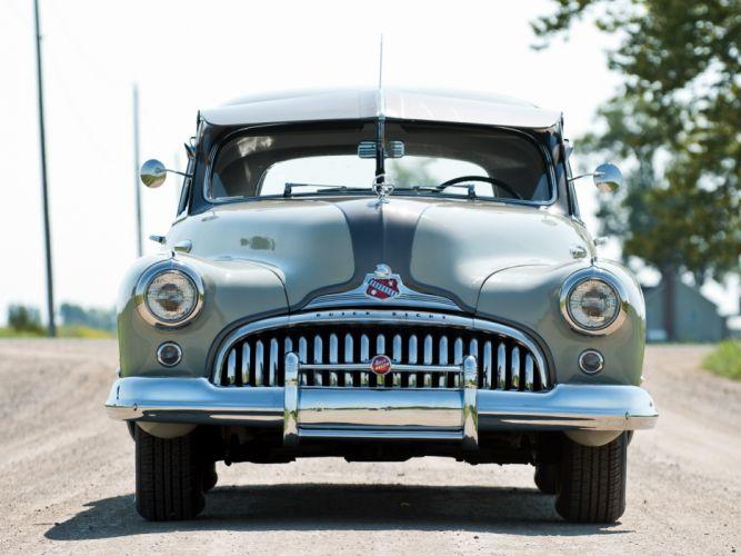 1948 Buick Roadmaster Sedan retro wallpaper