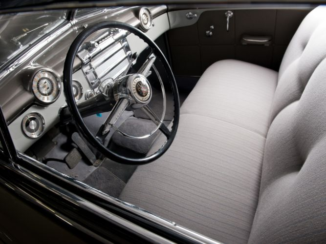 1948 Buick Roadmaster Sedan retro interior g wallpaper