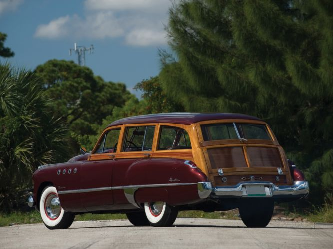 1949 Buick Roadmaster Estate Wagon retro stationwagon f wallpaper
