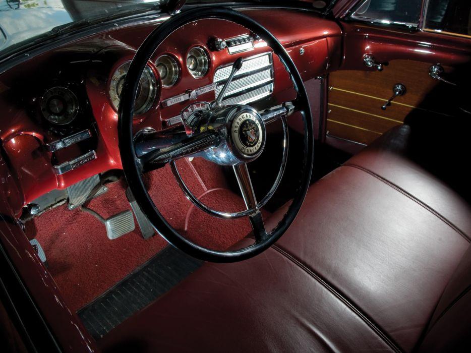 1949 Buick Roadmaster Estate Wagon retro stationwagon interior       h wallpaper