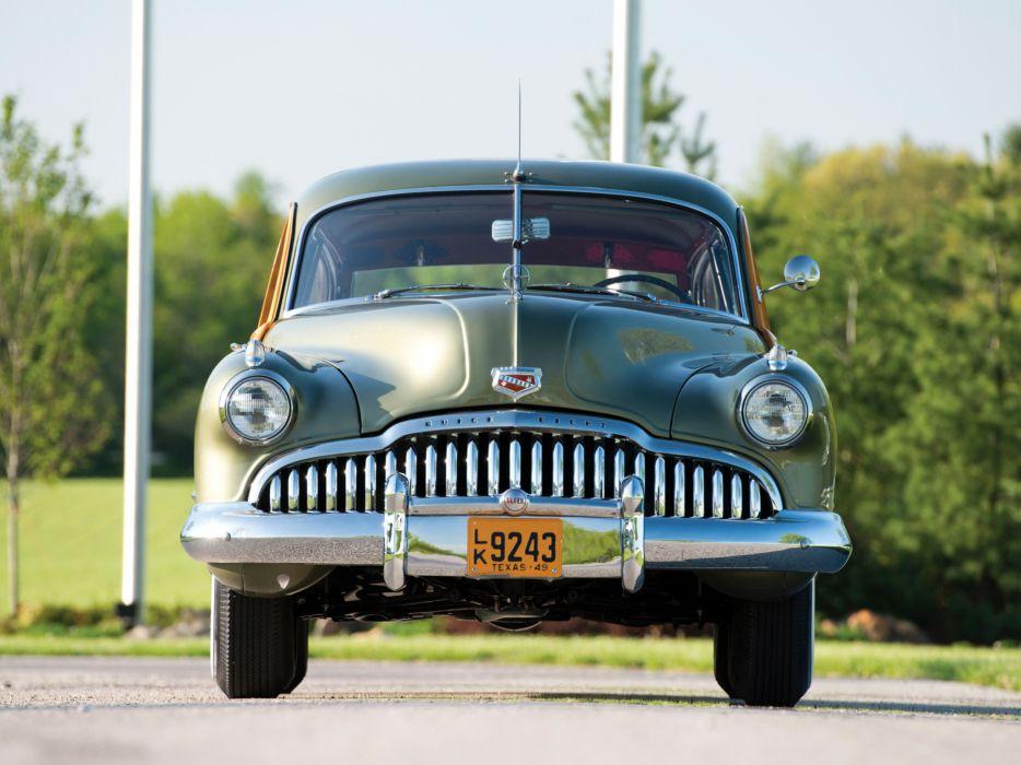 1949 Buick Super Estate Wagon stationwagon retro   f wallpaper