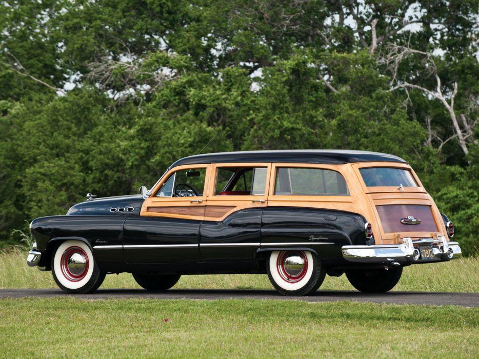 1950 Buick Super Estate Wagon (59) stationwagon retro 5-9  g wallpaper