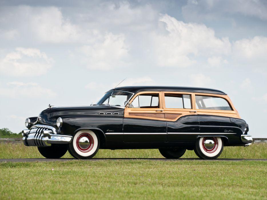 1950 Buick Super Estate Wagon (59) stationwagon retro 5-9 wallpaper