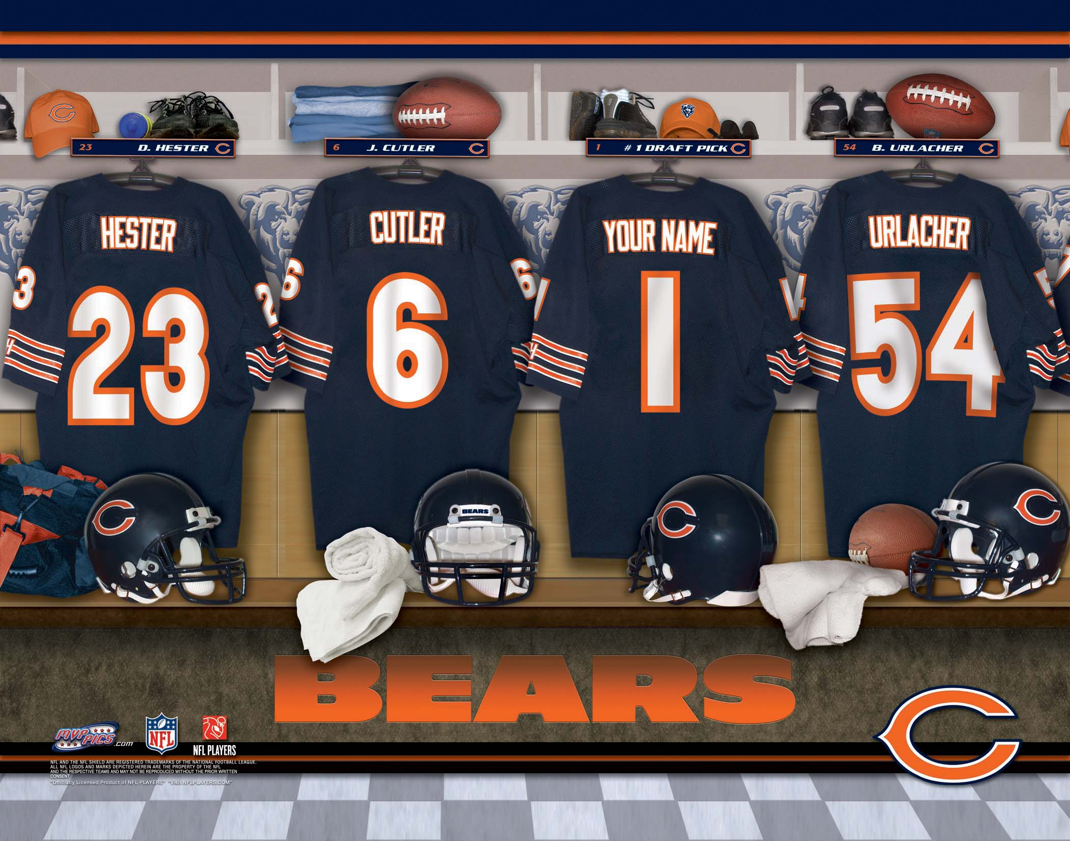 Cal Bears Football Wallpaper Chicago Bears Nfl Football h