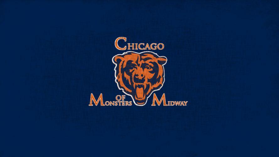 CHICAGO BEARS nfl football je wallpaper