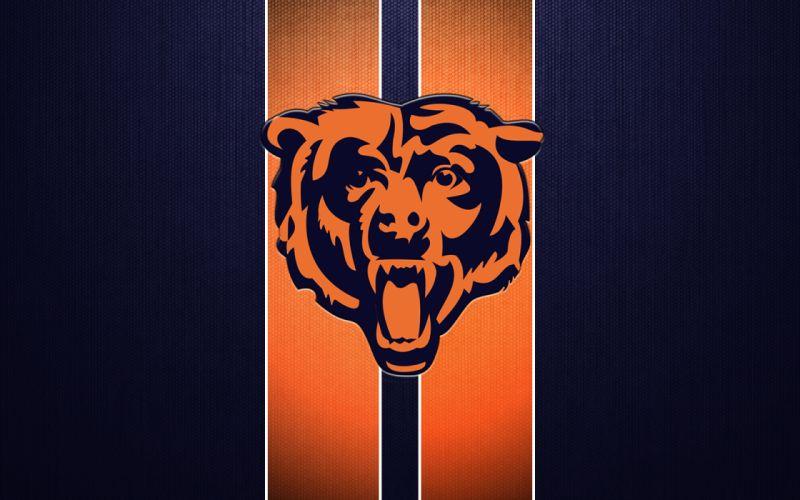 CHICAGO BEARS nfl football v wallpaper