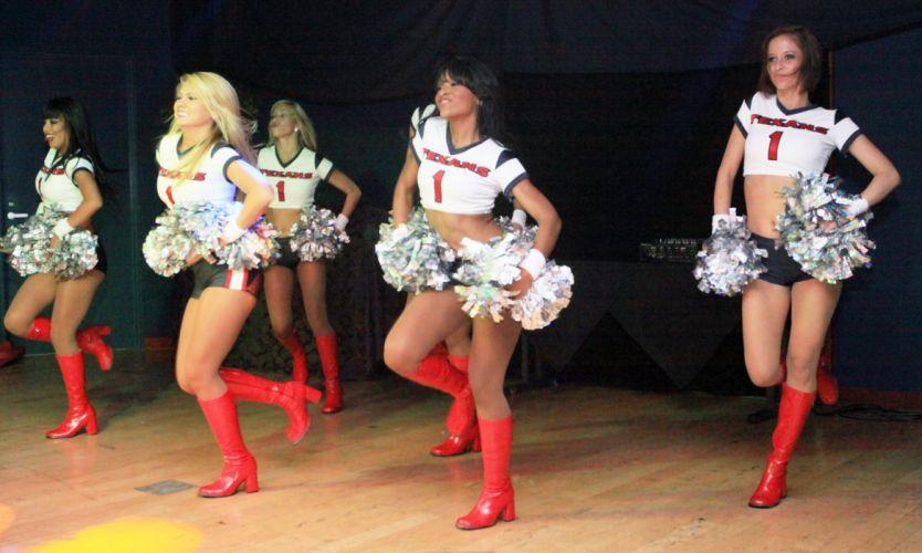 HOUSTON TEXANS nfl football cheerleader dj wallpaper