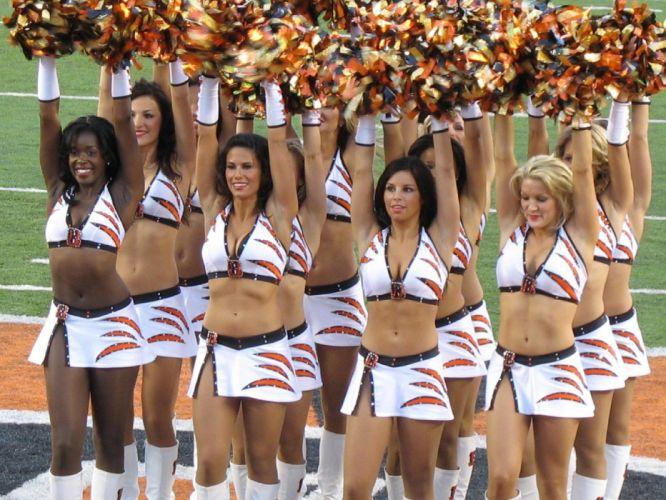 cheerleader nfl football Cincinnati Bengals f wallpaper