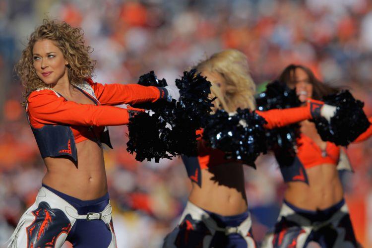 cheerleader nfl football denver broncos d wallpaper
