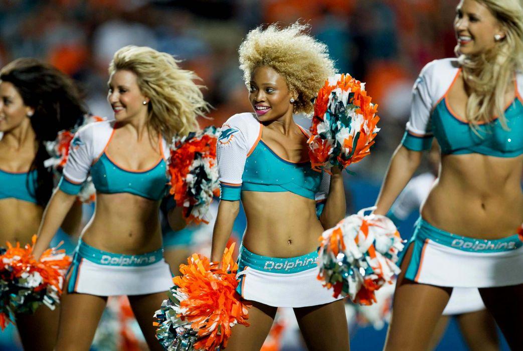 cheerleader nfl football miami dolphins      f wallpaper