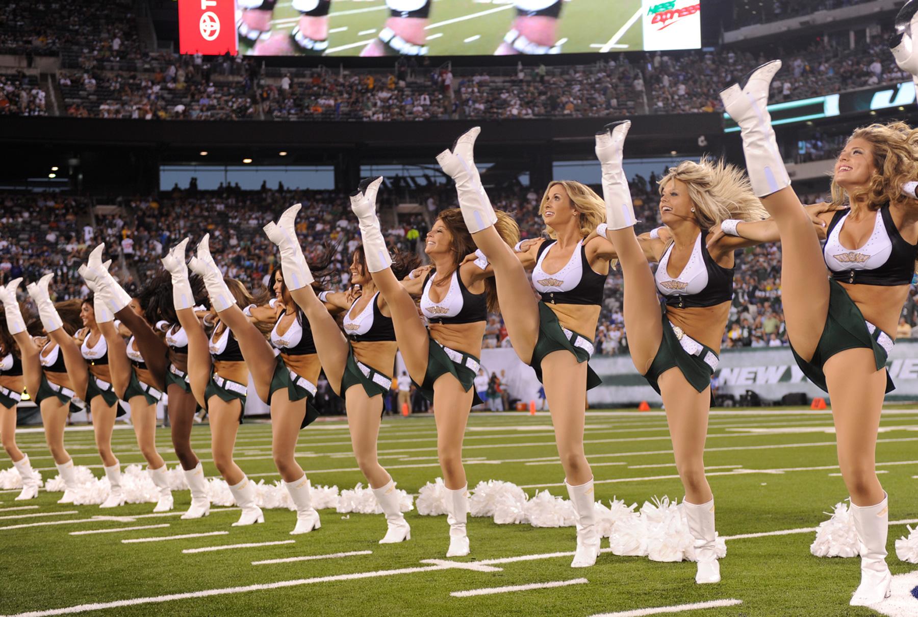 Cheerleader Nfl Football New York Jets F Wallpaper
