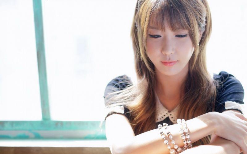 Woman Girl Beauty Asian Korean Heo Yun Mi wallpaper