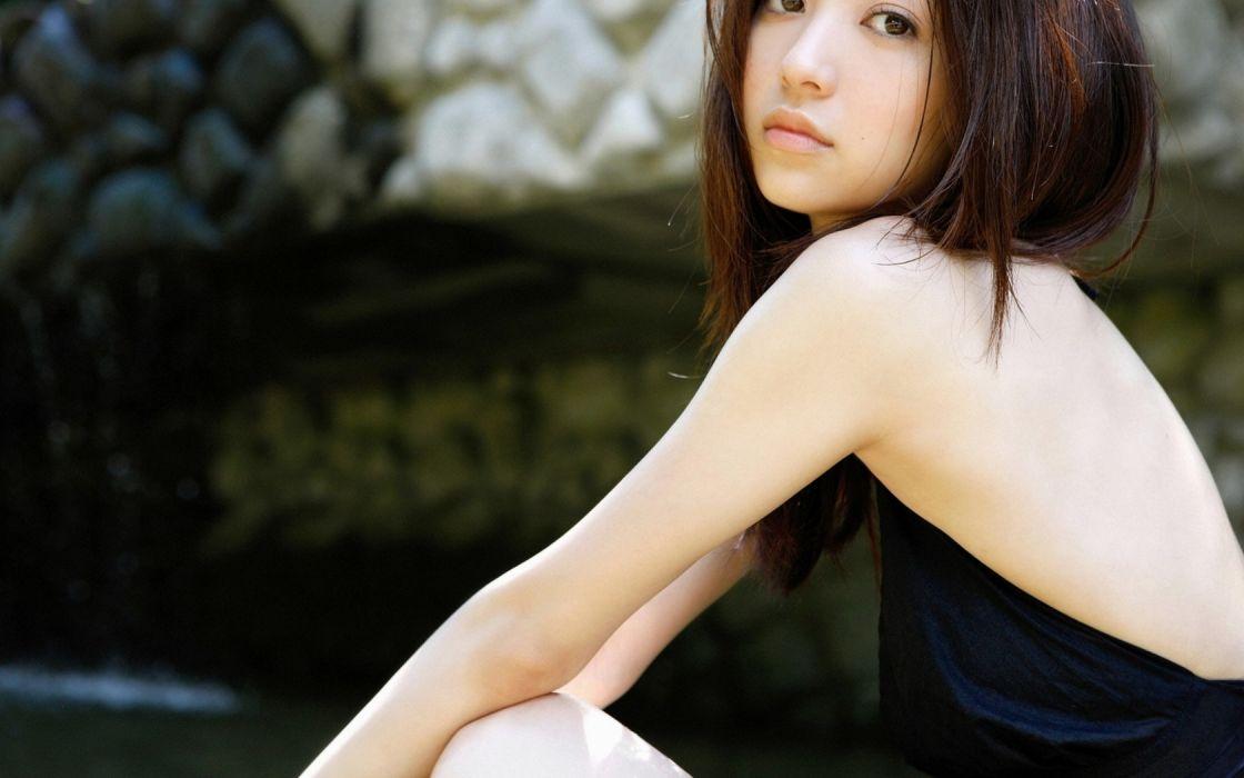 Asian Girl Beauty Rina Aizawa wallpaper