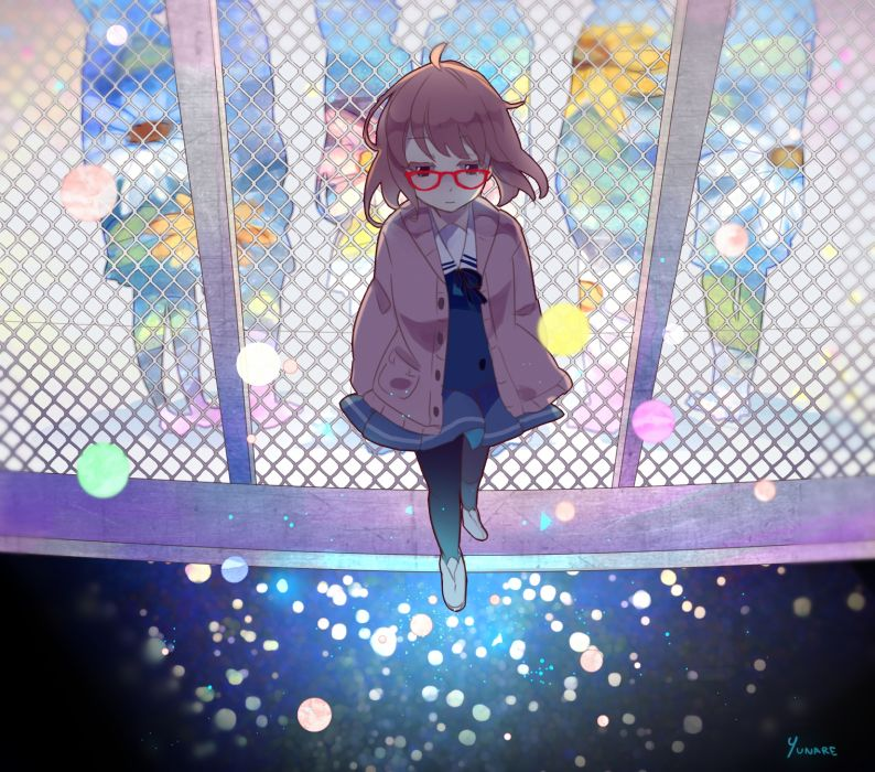 Kyoukai no Kanata Kuriyama Mirai wallpaper